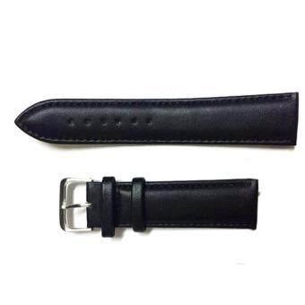 B&G Shop สายนาฬิกาหนังขนาด 20mm (สีดำ)