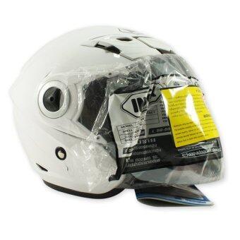 INDEX หมวกกันน๊อค TITAN-5 (สีขาวเงา)