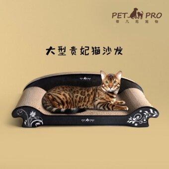 Inter Shop Lovecats Model SO004-BLACK โซฟาแมว/ที่นอนแมว/เตียงแมว/ที่ลับเล็บแมว/ ที่ข่วนเล็บแมว/เตียงนอนแมว/ของเล่นแมว/อุปกรณ์สำหรับแมว/Cat bed/Cat Toys/Cat climbing