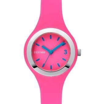2561 InTimes IT-CF093 Pink - Color fun นาฬิกาข้อมือ แฟชั่น สีชมพู