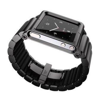 นาฬิกาข้อมือโลหะอะลูมิเนียมสายสำหรับ iPod Nano 6