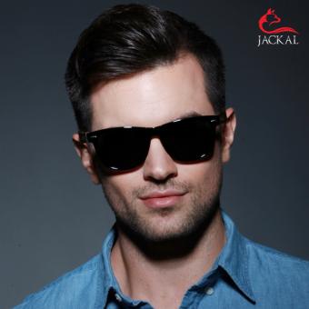 JACKAL แว่นกันแดดขาไม้ Jackal Semi-Wooden Sunglasses รุ่น TravellerTL008P (image 4)