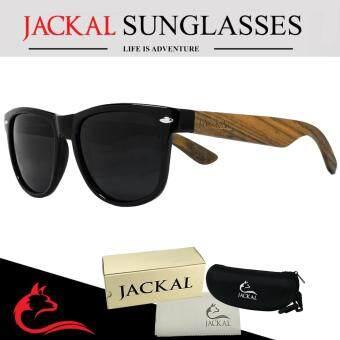 JACKAL แว่นกันแดดขาไม้ Jackal Semi-Wooden Sunglasses รุ่น TravellerTL008P (image 0)