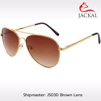 JACKAL SUNGLASSES ������������������������������������ ������������ SHIPMASTER I JS030 (PremiumGold Frame / Gradient Brown Lens) ��������� 1x ��������������������������������������������������������� JACKAL1x ������������������������������������������������������������ JACKAL