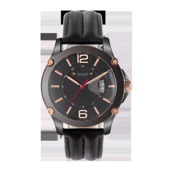 ราคา Julius Homme นาฬิกาสำหรับผู้ชาย สีดำ สายหนัง รุ่น JAH-079