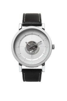 2561 Julius Homme นาฬิกาสำหรับผู้ชาย สีดำ สายหนัง รุ่น JAH-081