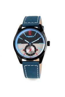 2561 Julius Homme นาฬิกาสำหรับผู้ชาย สีน้ำเงิน สายหนัง รุ่น JAH-088