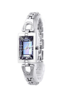 ซื้อ/ขาย Julius นาฬิกาสำหรับผู้หญิง สายสแตนเลส รุ่น JA-443 - ขาวน้ำเงิน