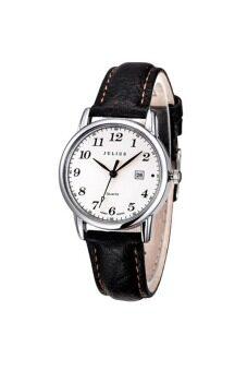 ราคา Julius นาฬิกาสำหรับผู้หญิง สีดำ สายหนัง รุ่น JA-508