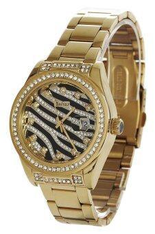 Julius นาฬิกาข้อมือผู้หญิง สายสแตนเลส รุ่น JA799 - สีทอง