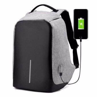 KAKAกระเป๋าเป้สะพายหลัง แบ็คแพ็ค กันน้ำ พร้อมพอร์ตยูเอสบีชาร์จแบตเตอรี่โทรศัพท์มือถือและแท๊บเล็ต Port USB