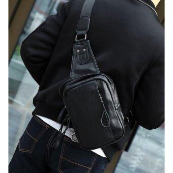 ต้องการขาย Kenbo J1 กระเป๋าสะพายข้าง กระเป๋าคาดบ่า กระเป๋าคาดไหล่ กระเป๋าคาดอก กระเป๋าสะพาย กระเป๋าลำลอง กระเป๋า Sholder bag men สีดำ Black