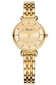 Kimio นาฬิกาข้อมือผู้หญิง สีทอง สายสแตนเลส รุ่น KW6028