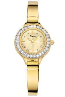 ราคา Kimio นาฬิกาข้อมือผู้หญิง สีทอง สายสแตนเลส รุ่น KW6031