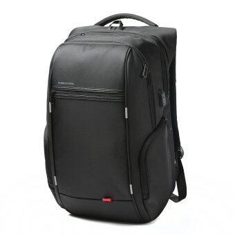 Kingsons City Elite Bag Designer กระเป๋าสะพายหลัง 15.6 นิ้ กันน้ำ กันขโมย สำหรับใส่แลปท็อป มีช่องเสียบชาร์จ USB พอร์ต