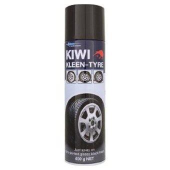 รีวิว Kiwi Kleen-Tyre โฟมทำความสะอาดยางรถยนต์ - Blue