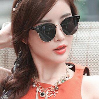 KPshop แว่นกันแดดผู้หญิง แว่นตาแฟชั่น แว่นตาเกาหลี รุ่น LG-013