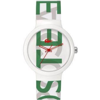 Lacoste 2020062 นาฬิกาข้อมือผู้ชายและผู้หญิง สายซิลิโคน