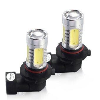 LED หลอดไฟ รถยนต์ HB4/9006 COB 4 LED Daylight (2 ชิ้น)