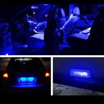 LED หลอดไฟ SMD 12 ดวง ไฟห้องโดยสาร ไฟอ่านหนังสือ (สีฟ้า) (image 1)