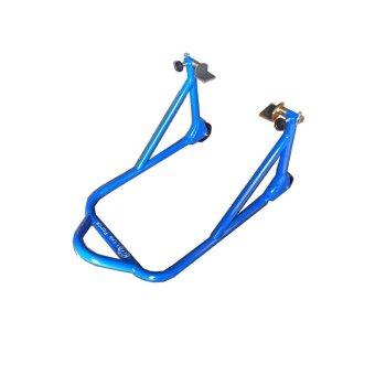 สแตน มอเตอร์ไซค์ขนาดกลาง สีฟ้า(Link Force)
