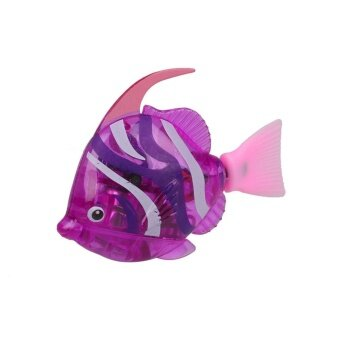 Luminous Electron Fish Robots Power-Driven Aquarium FishbowlDecoration - intl