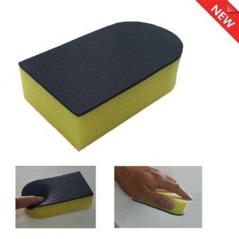 ฟองน้ำดินน้ำมันขัดสีรถมหัศจรรย์ Magic Clay Sponge 11.5*6.5*3.5cmฟองน้ำนิ่มสำหรับส่วนโค้งได้ดี จับถนัดมือ ไม่ทิ้งคราบ