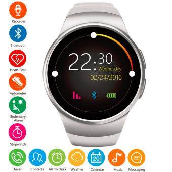 MEGA Fashion Smart Watch with Bluetooth & Heart Rate Monitor รุ่น SM0063(Silver)