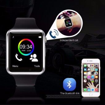 MEGA Fashion Smart Watch with Bluetooth รุ่น MG0032 (Black/Black) (ฟรี 2pcs Smartwatch Battery+Charger) - 4