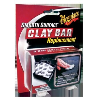 Harga Meguiar's G1001 Smooth Surface Clay Bar Replacement ดินน้ำมันลบคราบสกปรก 3 ก้อน.