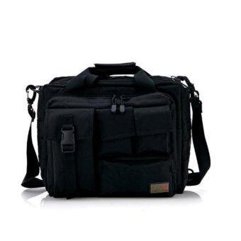 Men'S Tactical Military Messenger Army Bags Men Shoulder Bags Molle Outdoor Sport Laptop Camera Handbags (Black) - intl