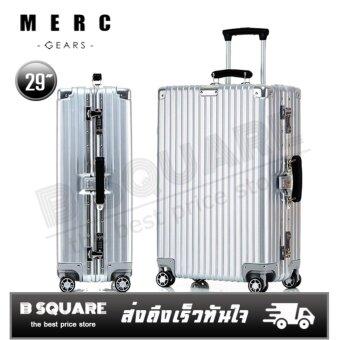 Merc Gears กระเป๋าเดินทางขนาด 29 นิ้ว โครงอะลูมิเนียม อลูมิเนียม วัสดุ ABS+PC