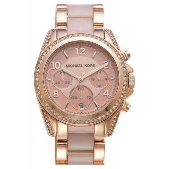 Michael Kors Blair MK5943 Womens Watch Stainless Strap - Gold