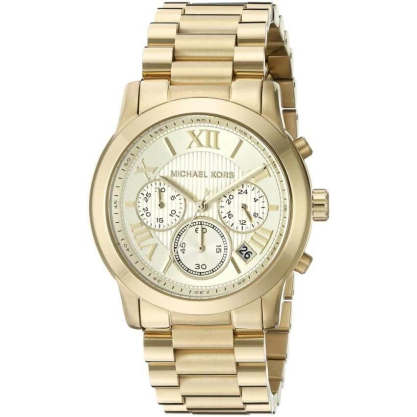 Michael Kors Cooper Chronograph Gold Dial Ladies Watch MK6274 มีของพร้อมส่งทุกจังหวัด