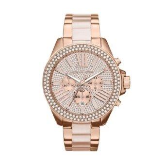 2561 Michael Kors Women s MK6096 Wren Two-Tone Stainless Steel Watch