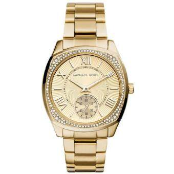 ราคา Michael Kors Women s MK6134 Bryn Gold-Tone Stainless Steel Watch