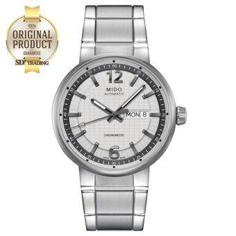 2561 MIDO Great Wall Automatic Chronometer Men s Watch รุ่น M015.631.11.037.09 - White/Grey