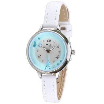 2561 Mini นาฬิกามินิ เครื่องญี่ปุ่น Mini Watch Korea Design Handmade Polymer-clay 3D-Watch MN2046B