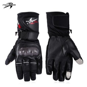 Minicar Black PROBIKER HX - 05 Motorcycle Racing Gloves (L ) - intl