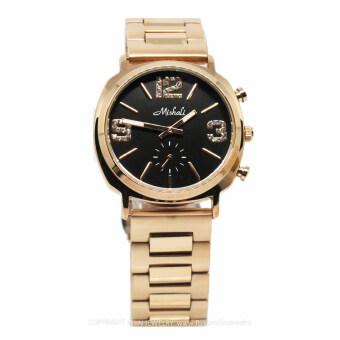 2561 Mishali นาฬิกาข้อมือสตรี รุ่น M-13381 สีrosegold