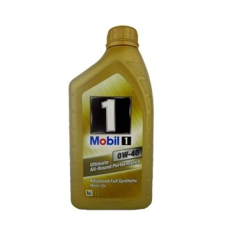 MOBIL 1 น้ำมันเครื่อง Super Synthetic 0W-40 1ลิตร