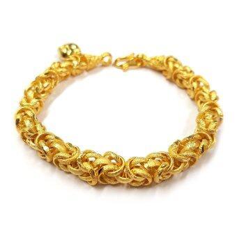 MONO สร้อยข้อมือจากเศษทองแท้ น้ำหนัก ๑ บาท