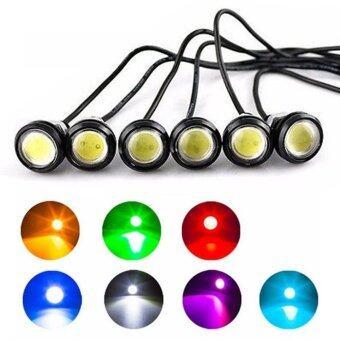 ... Moonar 2pcs 18mm 9W LED Eagle Eye Bulb Car Fog Daytime ReverseSignal DRL Running Light (
