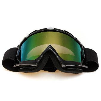 Motocross Off-road Trials Enduro Helmet ATV Dirt Bike Motorcycle Goggles Eyewear Black