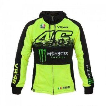 MotoGP Windbreaker Speed Down Jacket Jacket Motorcycle VR46 Rossi Windproof Racing Suit Coat Coat Sweater (Color: 1 / Size: XXXL) - intl