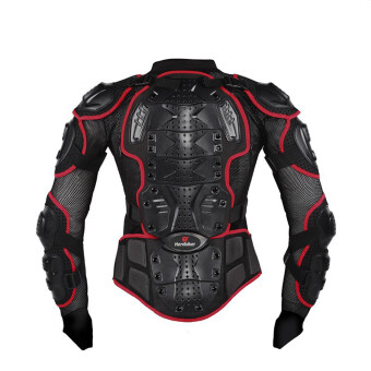 Motorcycle Body Protection Motorcross Racing Full Body Armor Spine Chest Protective Jacket Gear (Intl)