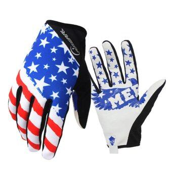 Motorcycle Gloves mtb Bike Gloves Ciclismo Racing Sport Ciclismo\nOutdoor Breathable Gloves Thick Shockproof Gants Moto Verano Size L\n- intl