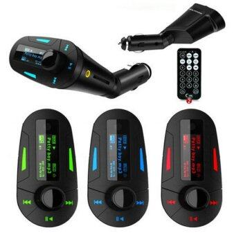เครื่องเล่น mp3 ติดรถยนต์ FM Modulator, FM Transmitter, Car MP3 ,FM Radio Music Player , มาพร้อม Remote /lcd screen