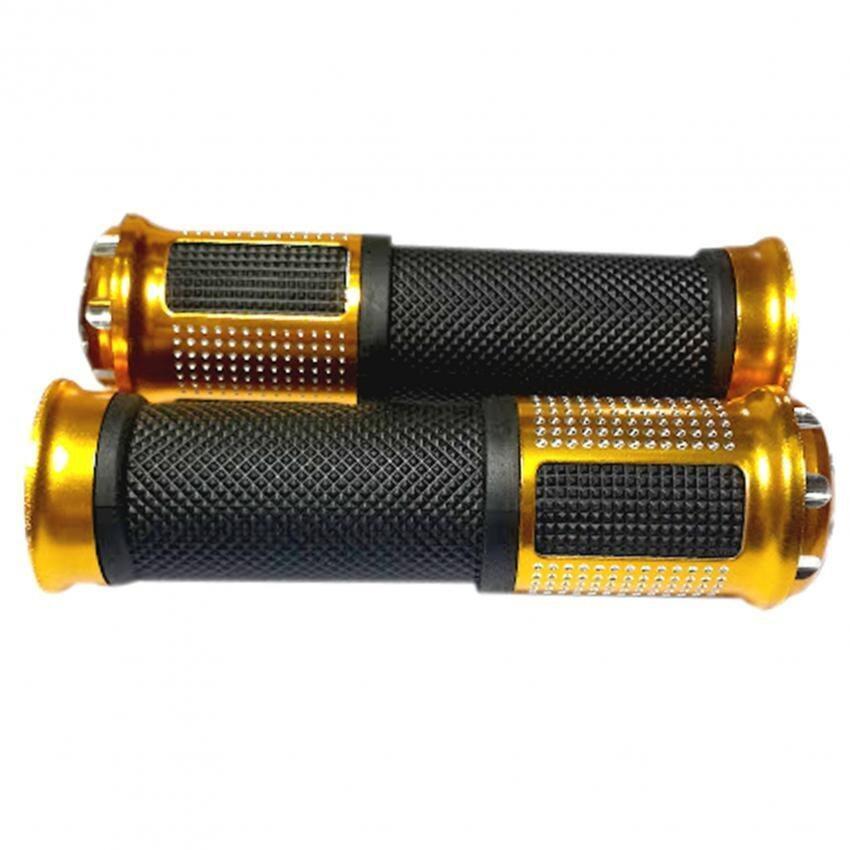สินค้าดี!! ปลอกมือแต่ง มีเนียม (สีทอง)  ใส่ msx m-slaz N-MAX SONIC WAVE 100 WAVE110I SUPER-CUP ปอกมือ ปลอกแฮนด์