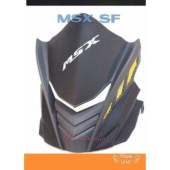 ชิวหน้าเล็กMSX SF งาน ABS NO.4 ดำ